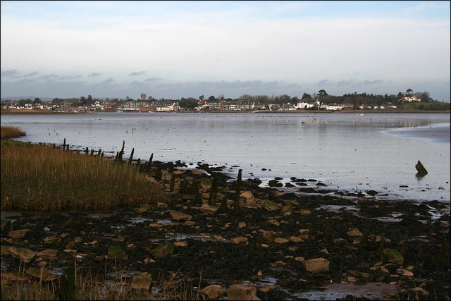 The Exe Estuary at Turf Locks