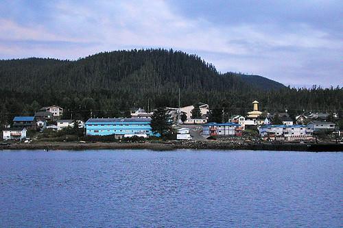 Bella Bella (Waglisla) on Campbell Island, Coastal British Columbia, Canada