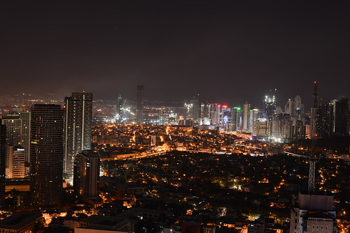 Makati from above | by Mashhour Halawani