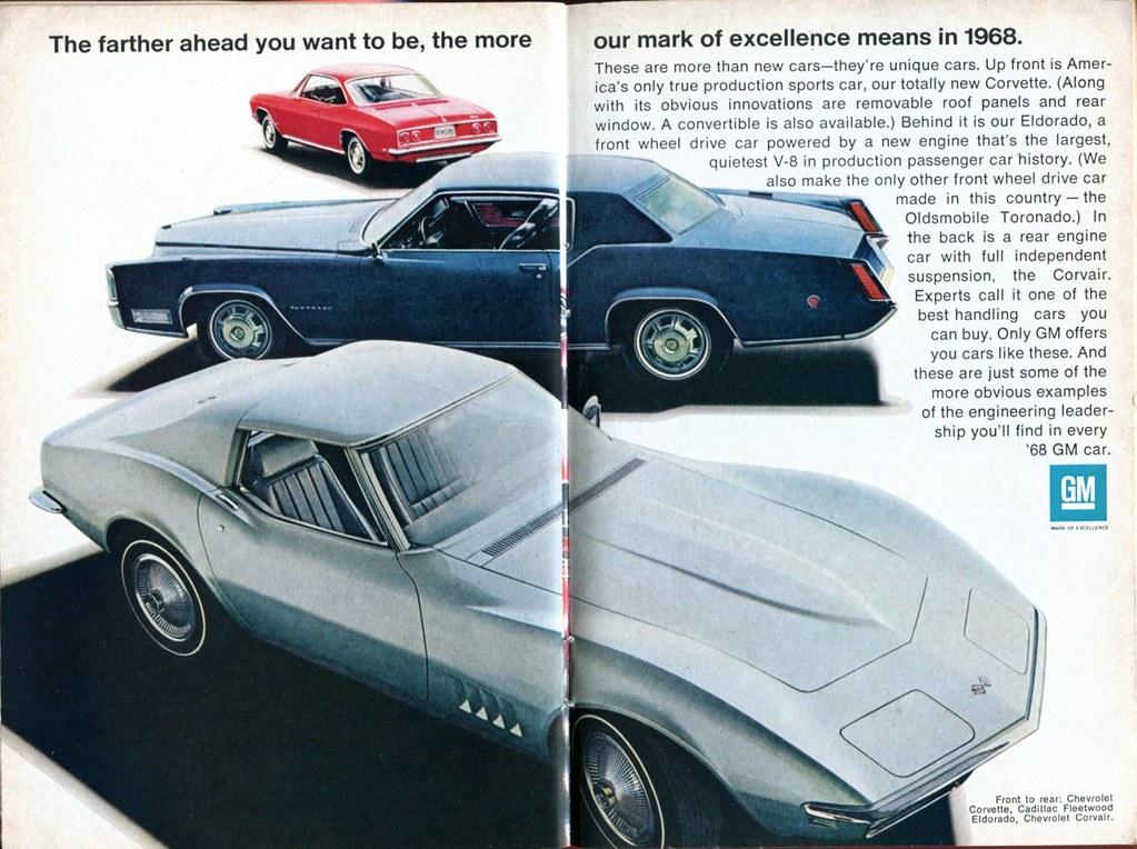 1968 General Motors Corvette Cadillac Fleetwood Eldorado C Flickr