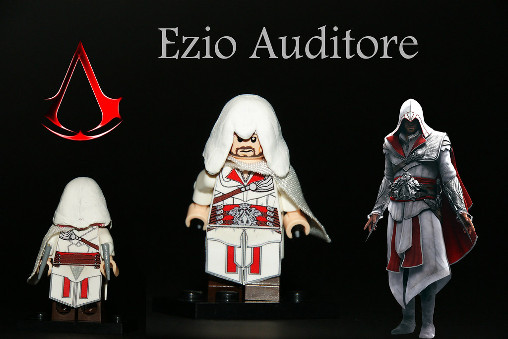 Lego Custom Ezio Auditore Da Firenze Ac Brotherhood Flickr