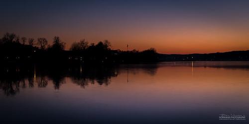 nightphotography blue sunset orange norway nes bluehour goldenhour tønsberg vestfold føynland foynland træla kalvetangen nesalléen nordrenes