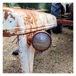 Old #Ford tractor cover and headlamp. | by Amy Weiser