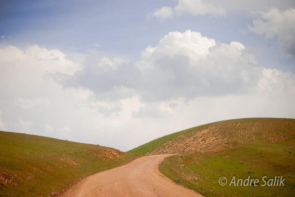 Beautiful landscape ! Дорога в небо....13:36:28......