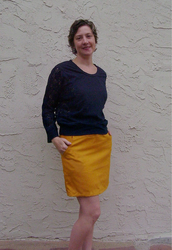 S2541 Golderod Skirt w/ Georgia Top