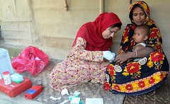 Measuring Hemoglobin During Baseline Data Collection in Bangladesh