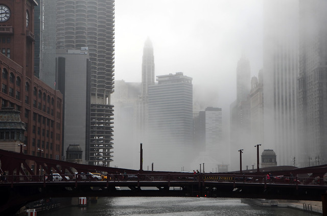 River North Fog, Chicago, April-May, 2016 1 full (in explore)
