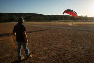 Tyler Kiting Paragliding Wing | by goingslowly