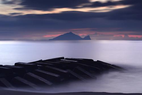 sea sunrise taiwan 台灣 海 宜蘭 龜山島 永鎮 永鎮濱海公園 永鎮濱海