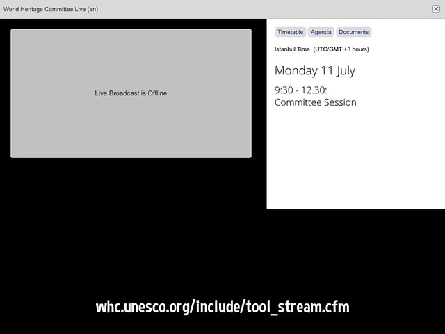 What's next at the World Heritage Committee. Livestreaming online #40whc