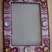 OOAK - Pink Cherub Frame