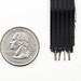 Conductive thread ribbon cable - Black - 1 yard by adafruit
