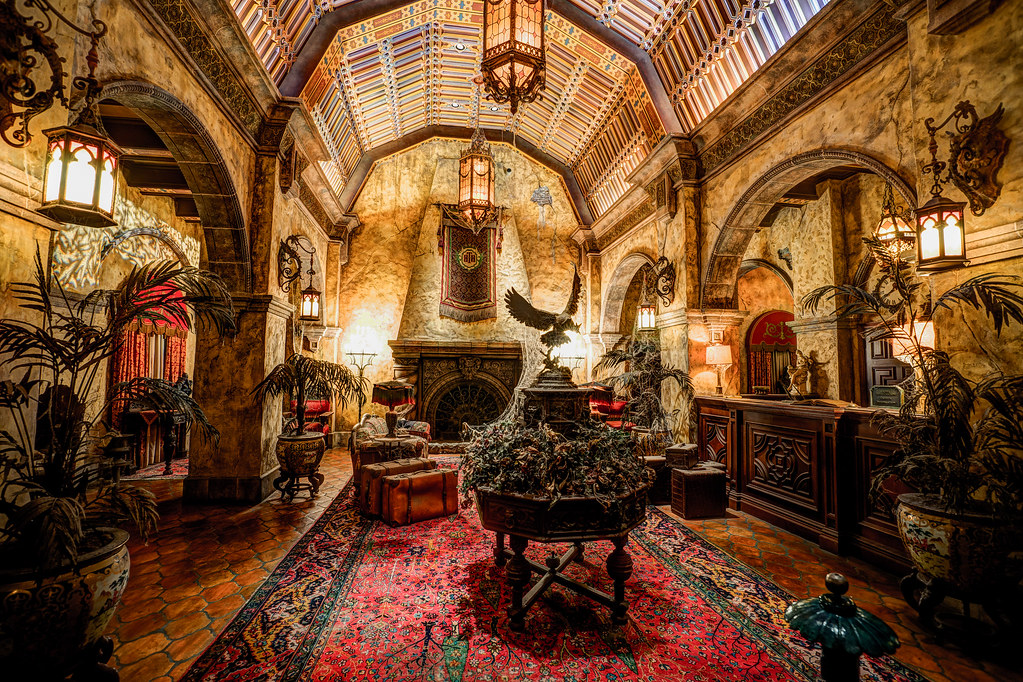 Hollywood Studios: Tower of Terror / Lobby | Instagram | r ...
