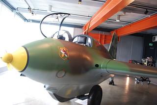 Messerschmitt ME 163 B Komet | by OnceAndFutureLaura