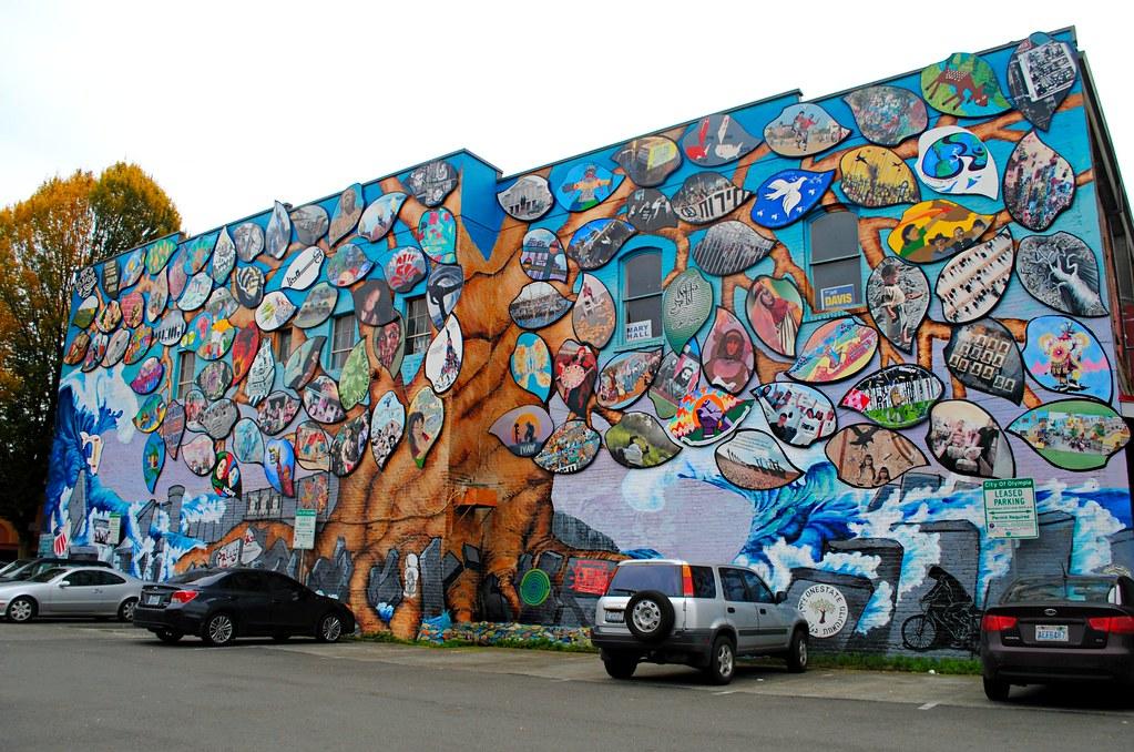 Graffiti Tree Mural