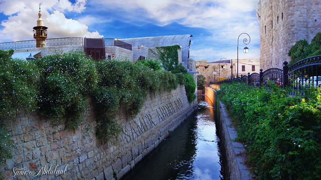 Barada River & Damascus Castle