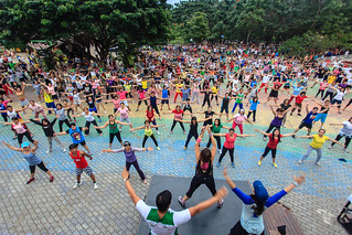 Zumba at People's Park Davao City | by Jeff Pioquinto, SJ