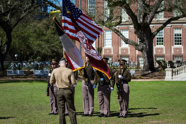 Corps of Cadets Color Guard