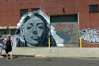 Street Art | Berry St | Northside | Williamsburg | Bushwick | NYC