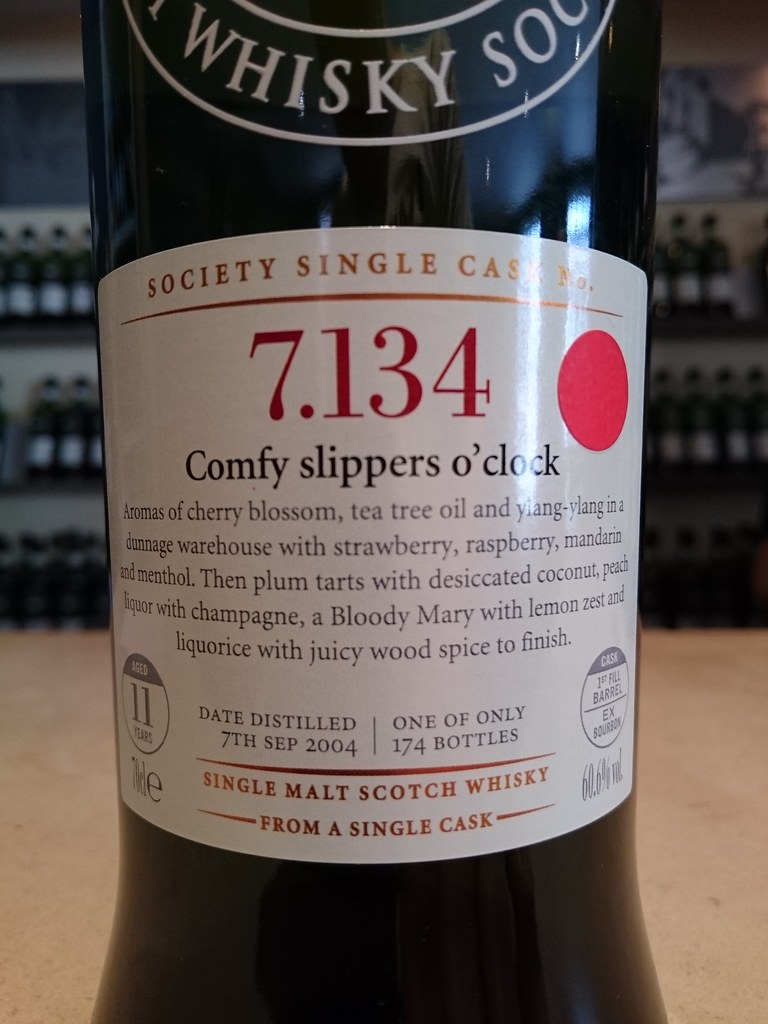 SMWS 7 134 - Comfy slippers o' clock | Philip Storry | Flickr