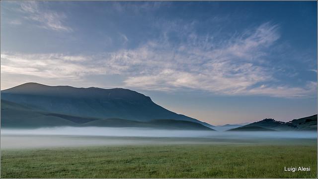 l'alba sui Sibillini