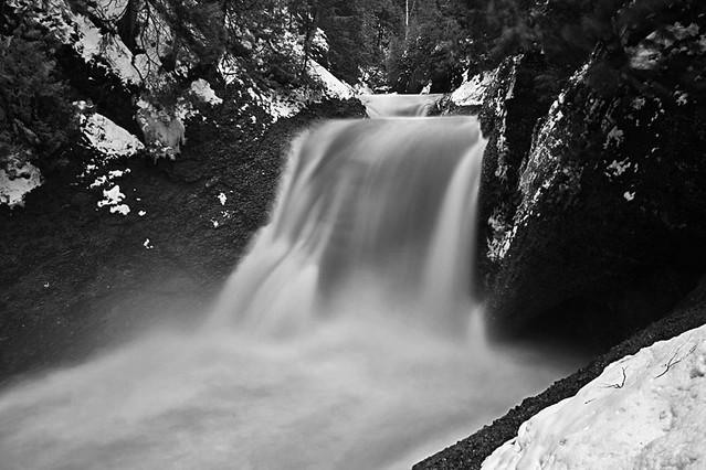 gorge falls-black river, gogebic county, MI