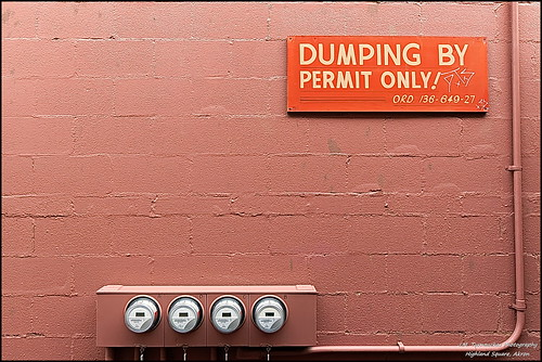 Dumping By Permit Only | by Mark Turnauckas