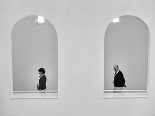 two people, two windows, nothing else | by Georgie Pauwels