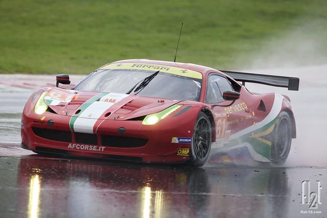 Matt Griffin, AF Corse Ferrari F458
