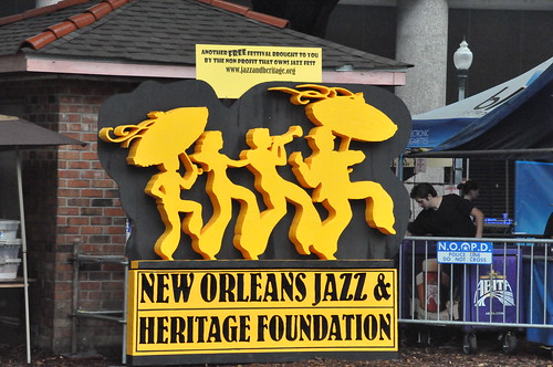 Crescent City Blues & BBQ Fest is brought to you by the New Orleans Jazz & Heritage Foundation. Photo by Kichea S Burt.
