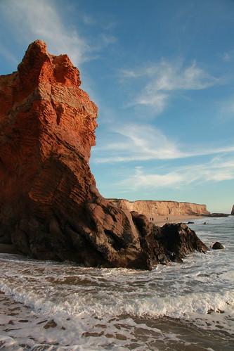 ocean california sea usa santacruz beach america landscape rocks pacific cliffs kalifornia klif skały morze plaża ameryka wybrzeże pejzaż pacyfik
