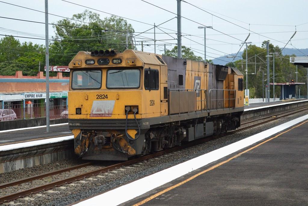 Aurizon Rail by Dave Brown