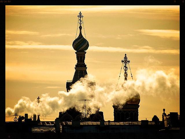 ST Peterburg morning