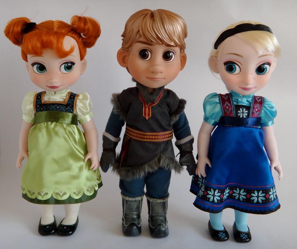 Toddler Anna Animators Kristoff And Toddler Elsa 16 Do Flickr