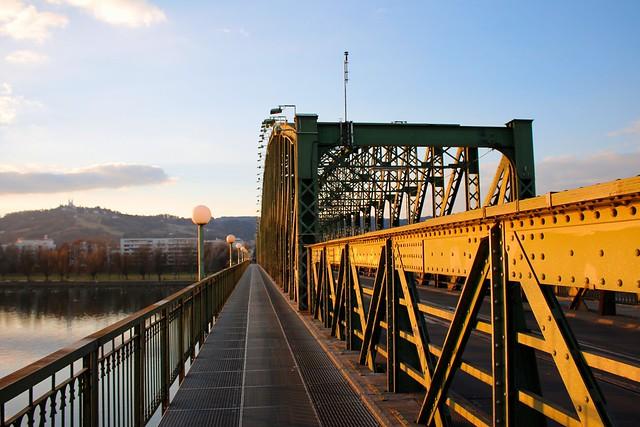 Eisenbahnbrücke, Linz
