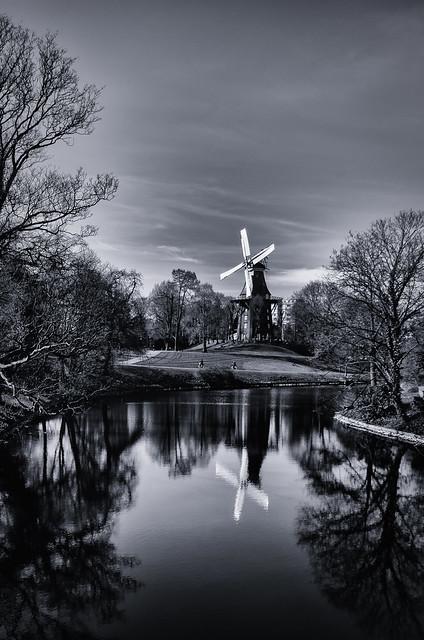 Wind Mill, Bremen, Germany
