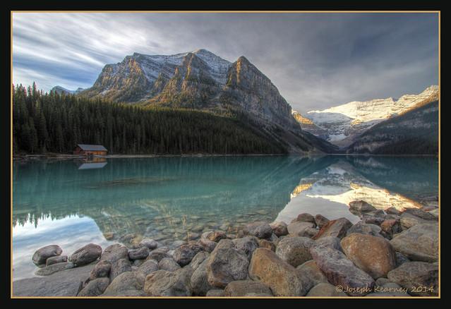 Lake Louise Sunrise (HDR Image)