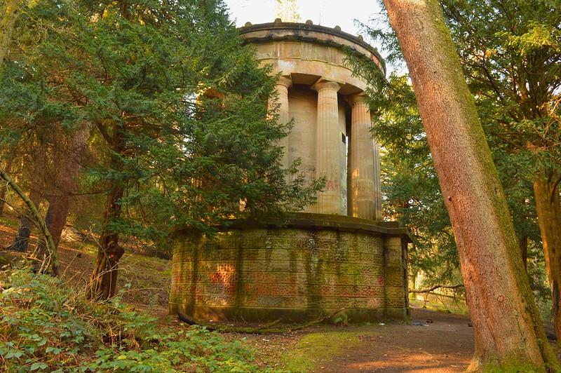 Forbes Mausoleum, Callendar Park.