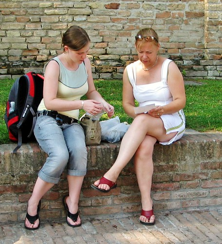 Ravenna Tourists - July 2006 - Russian Legs Candid | by Gareth1953 All Right Now