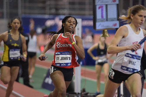 2015 Millrose Games - Armory - Women's Club Distance Medley Relay | by Steven Pisano