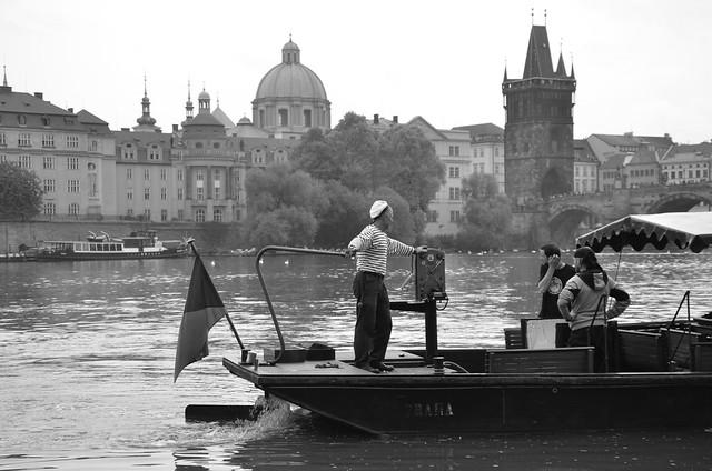 Prague - Vltava river