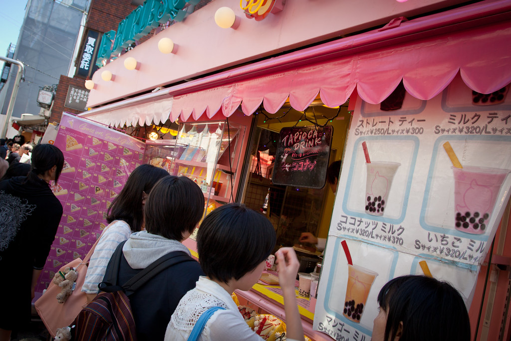 Bubble Tea in Harajuku