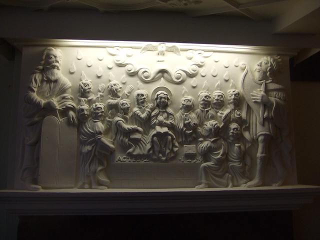 Pentecost Overmantel, Dartmouth