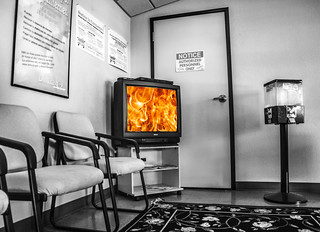 waiting room | by Robert Couse-Baker