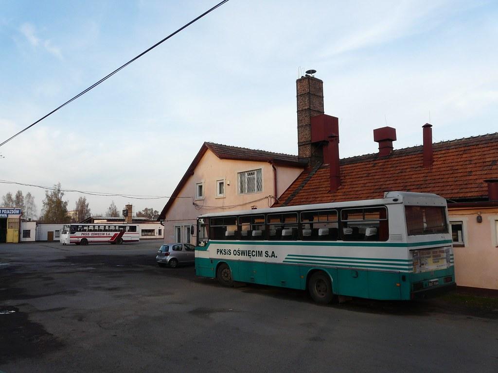 Oświęcim - dawna baza PKS (2010)