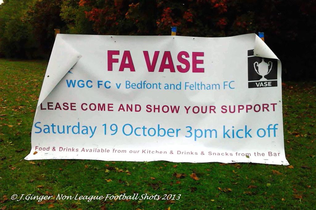 Welwyn Garden City 1-0 Bedfont & Feltham FA Vase 1st Rnd Proper 19th Oct 2013