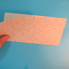 วิธีพับกระดาษเป็นผีเสื้อหางแฉก 002