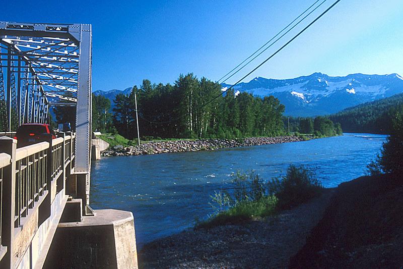 Elk River at Fernie, Elk Valley, BC Rockies, Kootenay Rockies, British Columbia, Canada