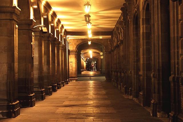 Portal del antiguo Palacio del Ayuntamiento CDMX