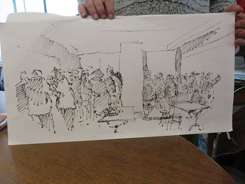 46e sketchcrawl 2015 01 31  065 (Copier) | by Marie France B
